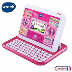 Vtech - 155555 - Ordi-tablette - Genius Xl - Rose 6