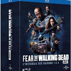 Fear The Walking Dead-L'intégrale des Saisons 1 à 4 [Blu-Ray] 4