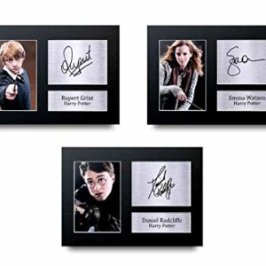 HWC Trading Harry Potter The Cast Gift Signé A4 Autographe Impression Photo Photo Photo Photo, Sans cadre., A4 36