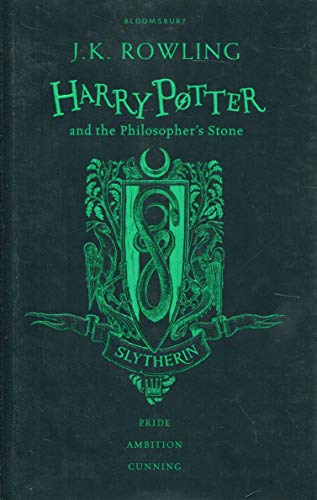 Harry Potter and the Philosopher's Stone: Slytherin Edition; Black and Green 1