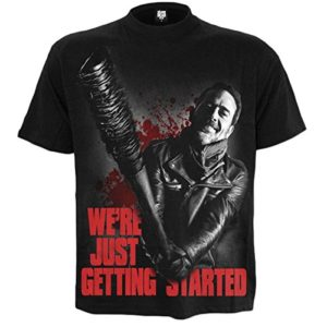 Spiral The Walking Dead - T-Shirt - Col Rond - Homme Noir Noir - Noir 40