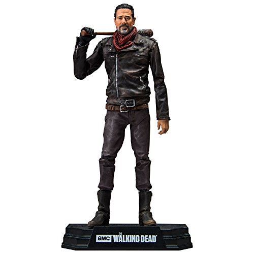 McFarlane- Negan Bloody Walking Dead TV Color Tops Figurine, 787926146790 1