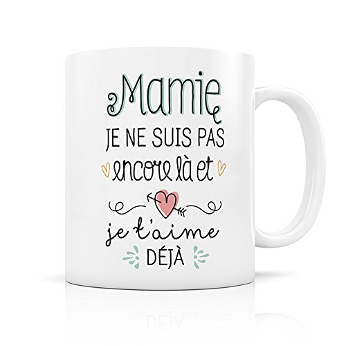 Mug annonce Mamie - Créa Bisontine 1