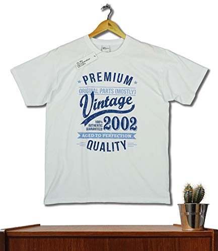 2002 Vintage Year - Aged to Perfection - 18 Ans Anniversaire Homme Cadeaux T-Shirt 3