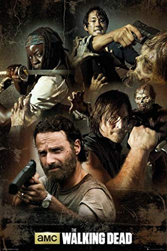 GB Eye, The Walking Dead, Collage, Maxi Poster, 61x91.5cm 1