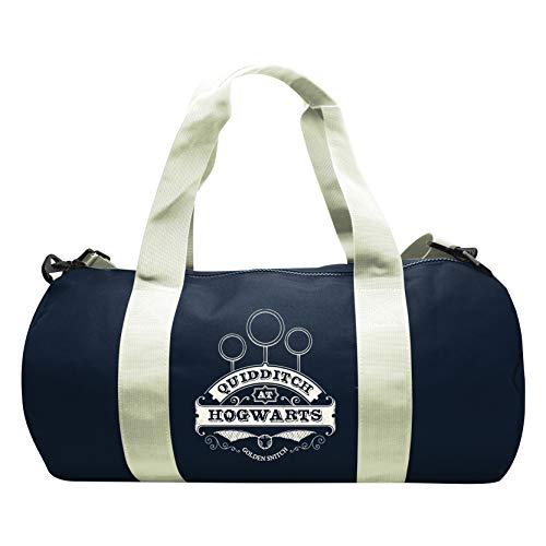 ABYstyle - Harry Potter - Sac de Sport Quidditch- Navy/White 1