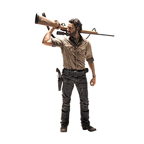 [Import Anglais] Walking Dead Deluxe - Figurine 10 inch  - Rick Grimes 2