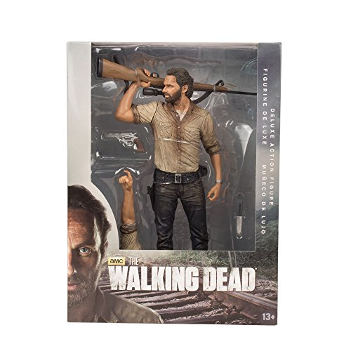 [Import Anglais] Walking Dead Deluxe - Figurine 10 inch  - Rick Grimes 3