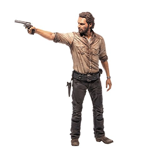 [Import Anglais] Walking Dead Deluxe - Figurine 10 inch  - Rick Grimes 1
