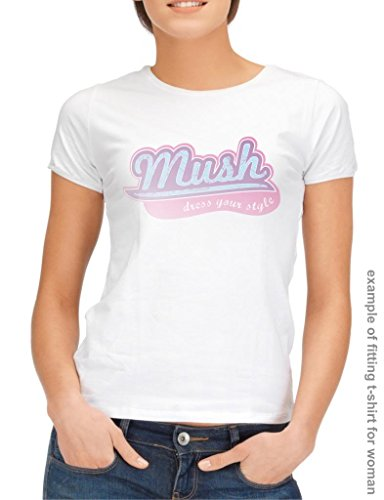 MUSH T-Shirt The Walking Dead The Grunge Title - Film by Dress Your Style 3