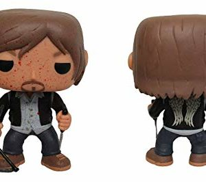 Pop Walking Dead Biker Daryl Bloody Vinyl Figure 28