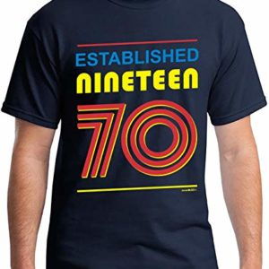 50th Birthday Gifts Cadeaux Anniversaire 50 Ans - Established 1970 - T-Shirt Homme 21