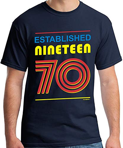 50th Birthday Gifts Cadeaux Anniversaire 50 Ans - Established 1970 - T-Shirt Homme 1