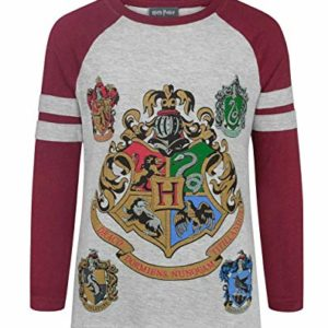 Harry Potter Hogwarts Girl's Raglan T-Shirt 43