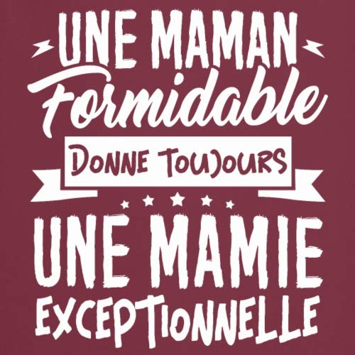 Maman Formidable Mamie Exceptionnelle Tablier 2