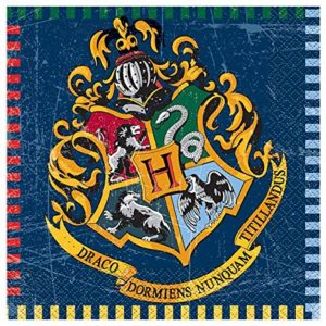 Unique Serviettes en papier Harry Potter - lot de 16 24