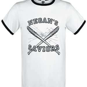 ABYstyle The Walking Dead - T-Shirt Homme Negan's Saviors 57