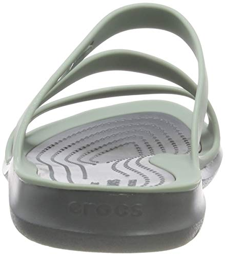 Crocs Swiftwater F, Sandales Bout Ouvert Femme 4