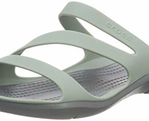 Crocs Swiftwater F, Sandales Bout Ouvert Femme 63