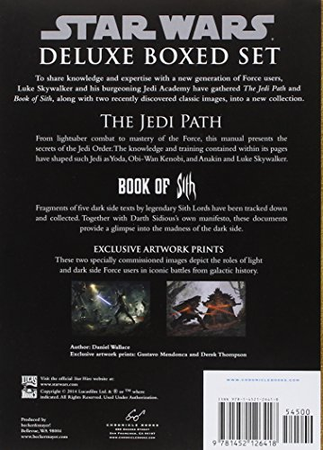 Star Wars(r) the Jedi Path and Book of Sith Deluxe Box Set 2
