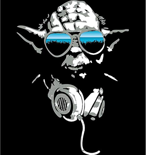 T-Shirt Star Wars - DJ Yoda 2