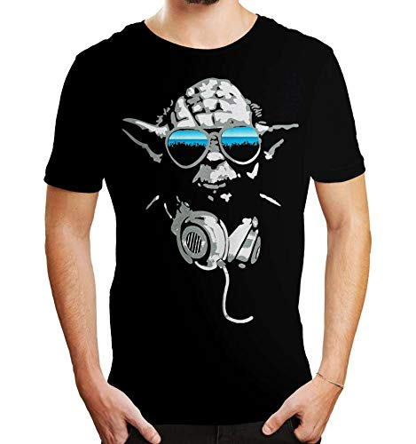 T-Shirt Star Wars - DJ Yoda 3