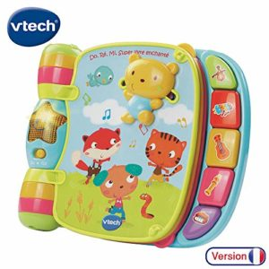 Vtech - 166705 - Jouet Musical - Do, Ré, Mi Super Livre Enchanté 58