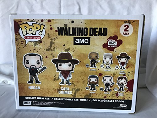Funko 21534 – The Walking Dead Pop Vinyl Figure 2 Pack Negan and Carl Grimes 3