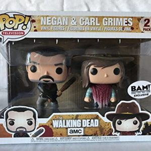 Funko 21534 – The Walking Dead Pop Vinyl Figure 2 Pack Negan and Carl Grimes 27