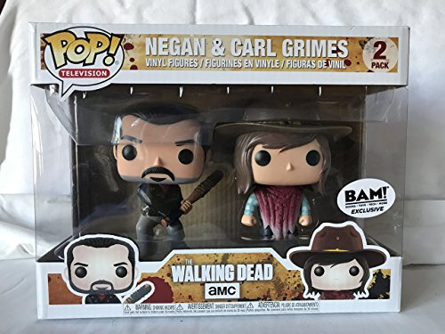Funko 21534 – The Walking Dead Pop Vinyl Figure 2 Pack Negan and Carl Grimes 1