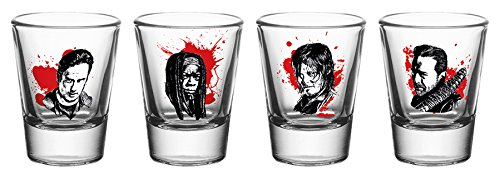 GB Eye Poster The Walking Dead, Personnages Neuf, Verres à Shot, différents 1