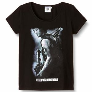 ABYstyle - THE WALKING DEAD - Tshirt Daryl Arbalète femme black - L - version anglaise 68