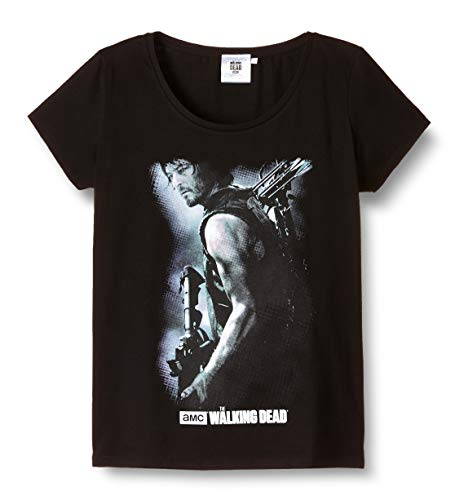 ABYstyle - THE WALKING DEAD - Tshirt Daryl Arbalète femme black - L - version anglaise 1