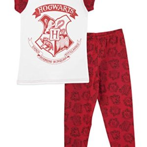 Harry Potter - Ensemble De Pyjamas Harry Potter Hogwarts - Fille - Multicolore - Taille 12 - 13 Ans 50