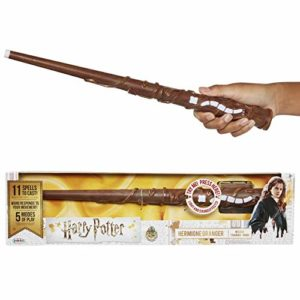 Jakks Pacific 73210 Assistant de Fonction de Harry Potter Hermione Baguette pour Femme, Multicolore 5