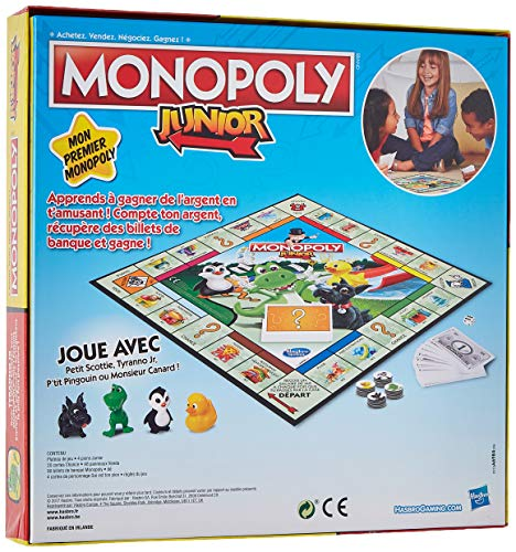 Monopoly Junior - Jeu de societe - Jeu de plateau - Version française 2