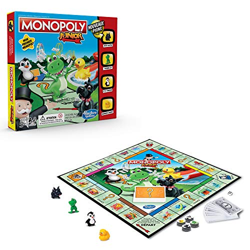 Monopoly Junior - Jeu de societe - Jeu de plateau - Version française 4