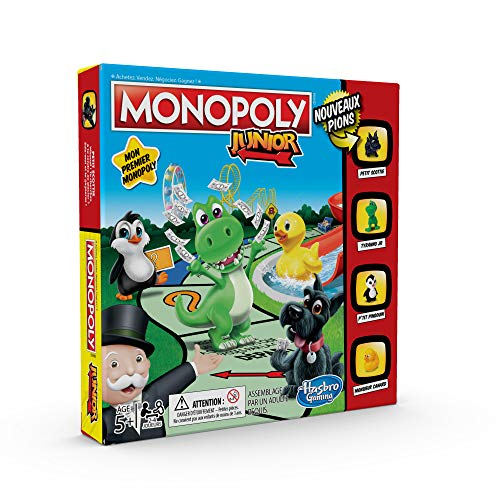 Monopoly Junior - Jeu de societe - Jeu de plateau - Version française 1
