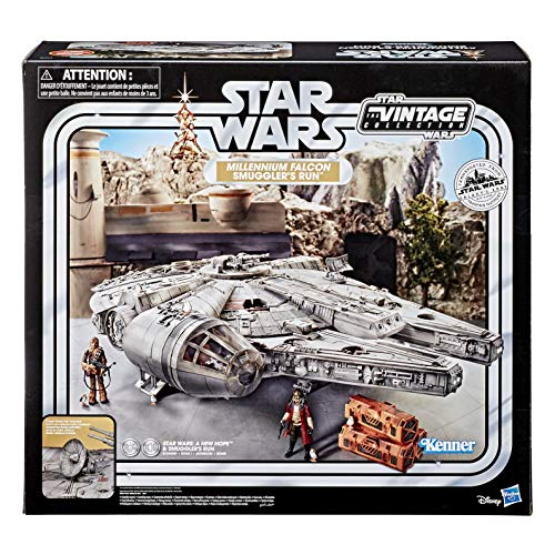 Star Wars – Edition Collector Vintage - Jouet électronique Galaxy's Edge Faucon Millenium - 9,5 cm 2