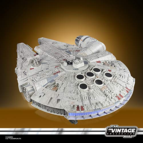 Star Wars – Edition Collector Vintage - Jouet électronique Galaxy's Edge Faucon Millenium - 9,5 cm 3