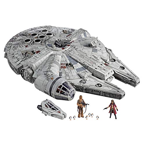 Star Wars – Edition Collector Vintage - Jouet électronique Galaxy's Edge Faucon Millenium - 9,5 cm 1