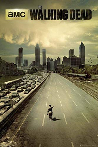Tainsi Plakat The Walking Dead City Poster 12 x 18 pouces 30 x 46 cm 1