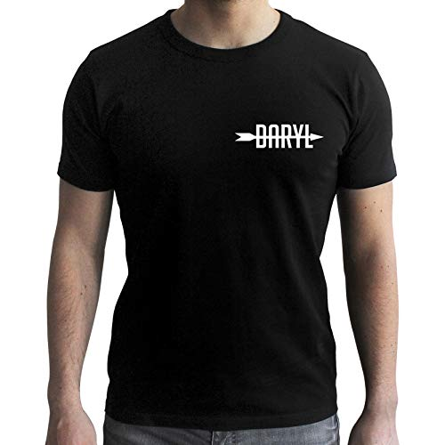 ABYstyle - The Walking Dead - Tshirt - Daryl - Homme - Black 2