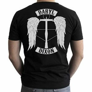 ABYstyle - The Walking Dead - Tshirt - Daryl - Homme - Black 4