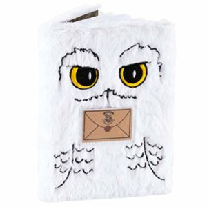 Blue Sky Designs Carnet de Notes en Peluche Harry Potter Hedwig A5 32