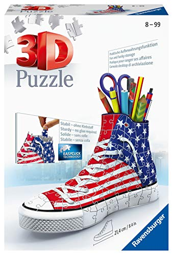 Ravensburger - Puzzle 3D - Sneaker - American Style - 12549 1