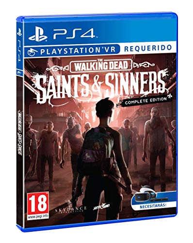 The Walking Dead Saints & Sinners Complete Edition VR Requis (PS4) 1
