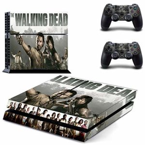 XIANYING The Walking Dead Ps4 Stickers Play Station 4 Skin Sticker Game Decals for Playstation 4 Ps4 Console & Controller Skins Vinyl 26