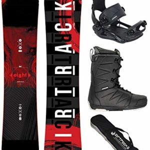 AIRTRACKS Snowboard Set/Pack Planche Eight Wide+Fixations Master FASTEC+ Chaussures DE Snowboard+SB Sac/Neuf 5