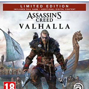 Assassin's Creed Valhalla Édition Limitée Amazon (PS5) 4